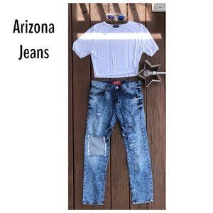Arizona Distressed Jeans Size 30x30